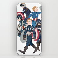 suits iPhone & iPod Skins featuring The suits by Sodam-art