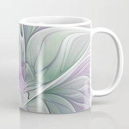 Flower Dream, Abstract Fractal Art Coffee Mug