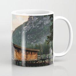 Lago di Braies Coffee Mug