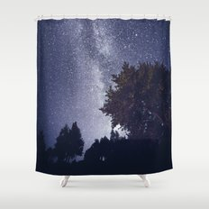 When you shine on me Shower Curtain