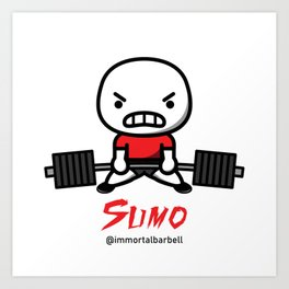 SUMO Art Print