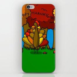 Happy Thanksgiving! iPhone Skin