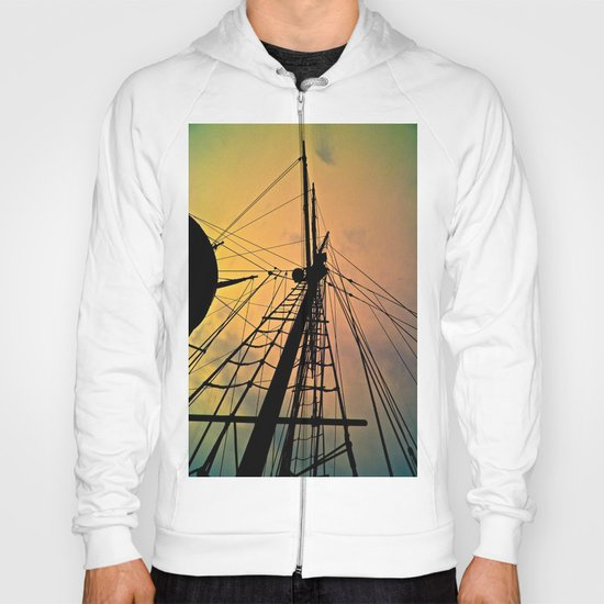 We Sail at Dawn Hoody