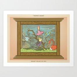 Bird Trophies Art Print