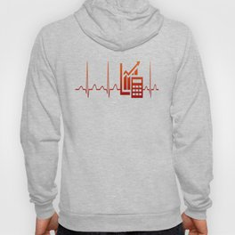 ACCOUNTANT HEARTBEAT Hoody