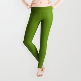 Stairway to Serenity ~ Moss Green Leggings