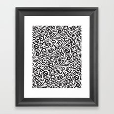 Abstract 0018 Framed Art Print