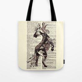 Fierce (Lunar New Year 2014 Horse) Tote Bag