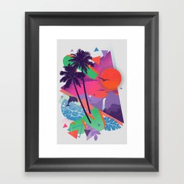 Tropix 96 Framed Art Print