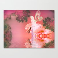 fairy Canvas Prints featuring Fairy by Shalisa Photography