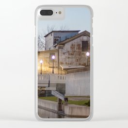 Old Mill Clear iPhone Case