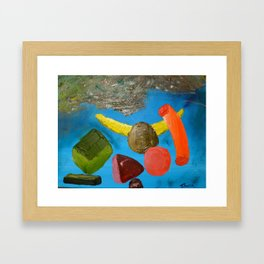 Whatever you want to make it / Lo que quieras que sea Framed Art Print