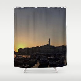 Over the horizont Shower Curtain