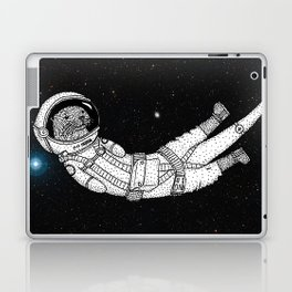 André Floating Around in Otter Space Laptop & iPad Skin