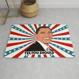 Obama, yes you should! Rug