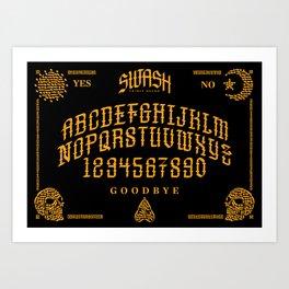 Calligraphy Spirit Board Art Print