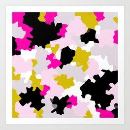 Crystalized 01 Art Print