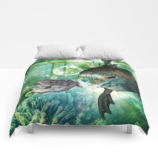 Hunter and hunted Comforters