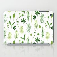leaves iPad Cases featuring Leaves by Vicky Webb