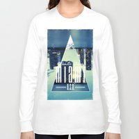 miami Long Sleeve T-shirts featuring MIAMI by Kami