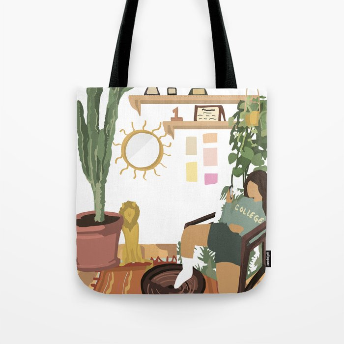 leo night in Tote Bag
