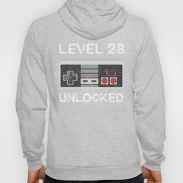 28th Birthday Gift for Him or Her Hoody