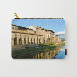 The Arno River - Florence Italy Carry-All Pouch