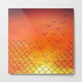 sunset escape Metal Print