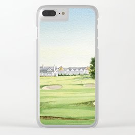 Southern Hills Golf Course 18th Hole Clear iPhone Case