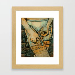 Clipped Framed Art Print
