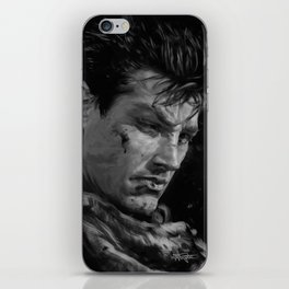 The Black Swordsman iPhone Skin