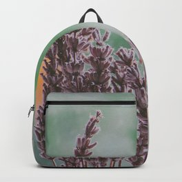 Lavender by the window Backpack