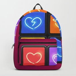 Rubik's Cube with Love Puzzle Backpack
