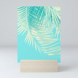 Palm Leaves Summer Vibes #4 #tropical #decor #art #society6 Mini Art Print