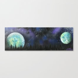 Beyond The Trees Canvas Print