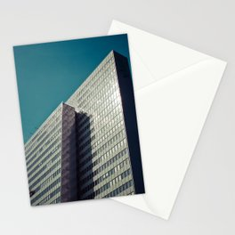Window Washers / Modern Architecture Stationery Cards