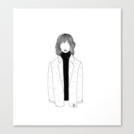 La fille sans visage °2° Canvas Print