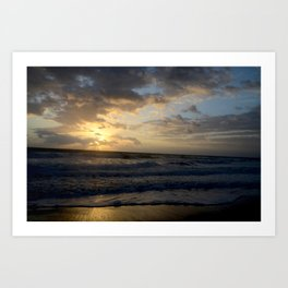 Florida Sunrise Art Print