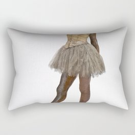 Edgar Degas - Little Dancer Aged Fourteen.jpg Rectangular Pillow
