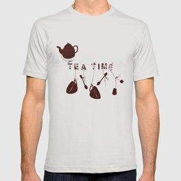Brown Tea Time II T-shirt