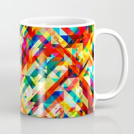 Summertime Geometric Coffee Mug