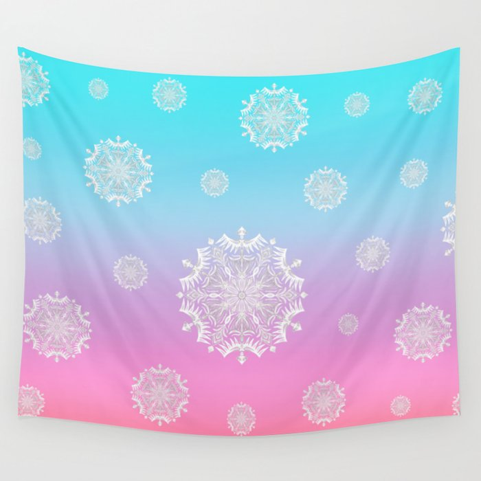 Crystal Dawn Wall Tapestry