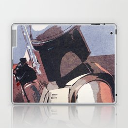 Bobba Fett | The Bounty Hunter | Star War Art Laptop & iPad Skin