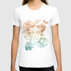 Frida  White MEDIUM Womens Fitted Tee