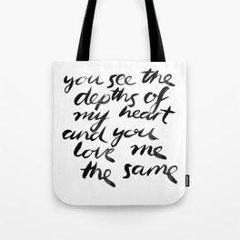 You See. Tote Bag