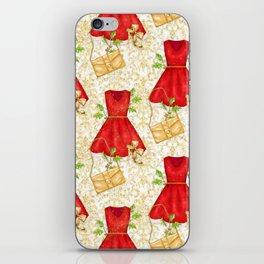 Chistmas fashion iPhone Skin