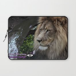 Lion in profile Laptop Sleeve