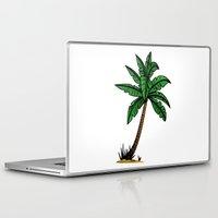 palm tree Laptop & iPad Skins featuring palm tree by Li-Bro