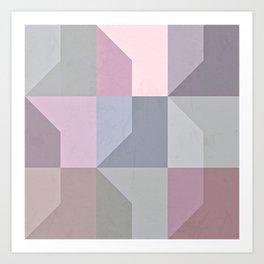 Pale Slates Art Print