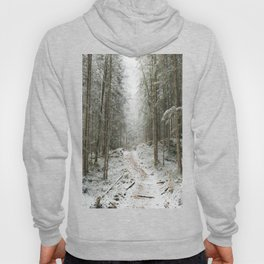 For now I am Winter - Landscape photography Hoody